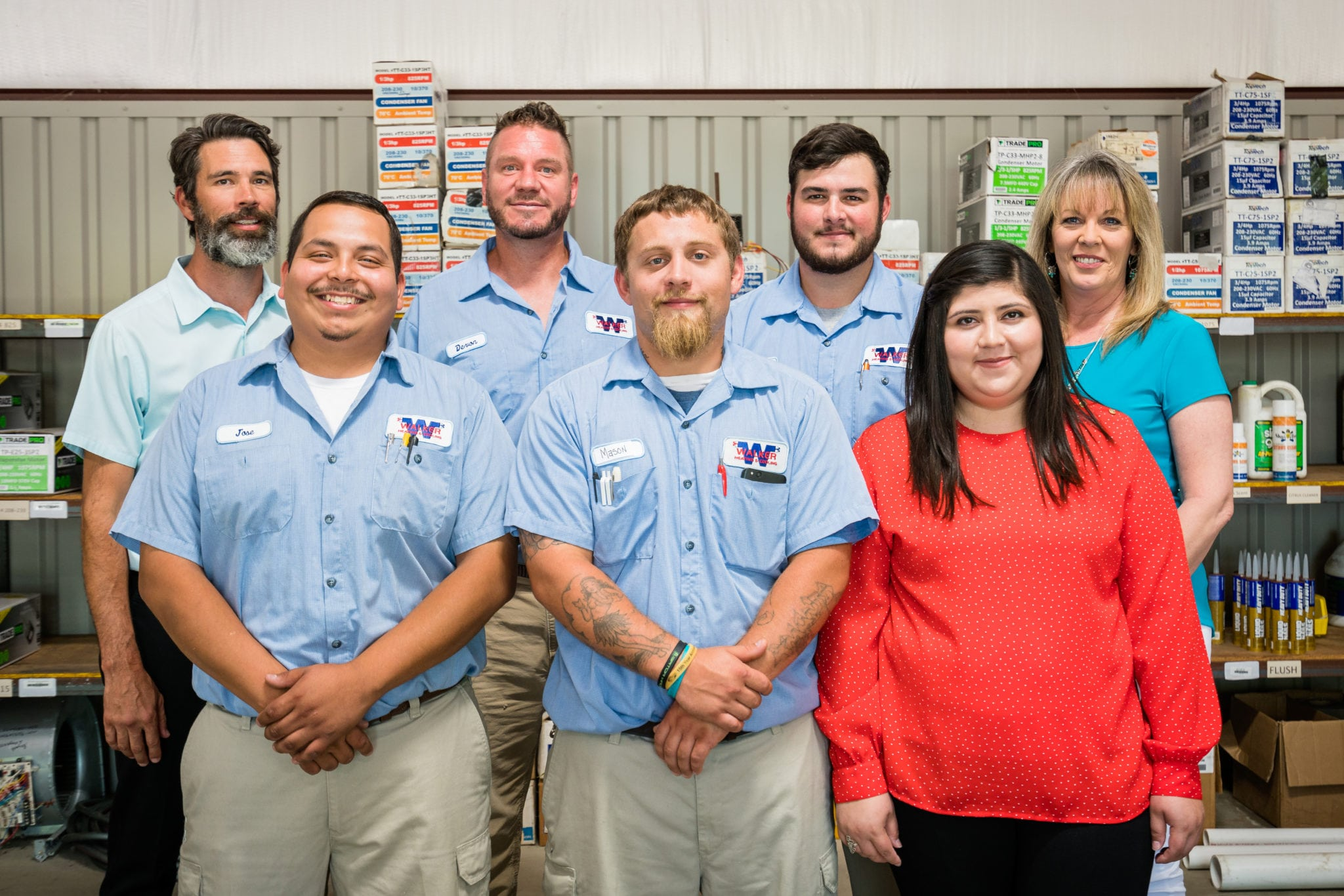 Meet the Walker Heating & Cooling Team
